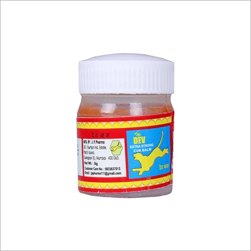 Red Pain Relief Balm