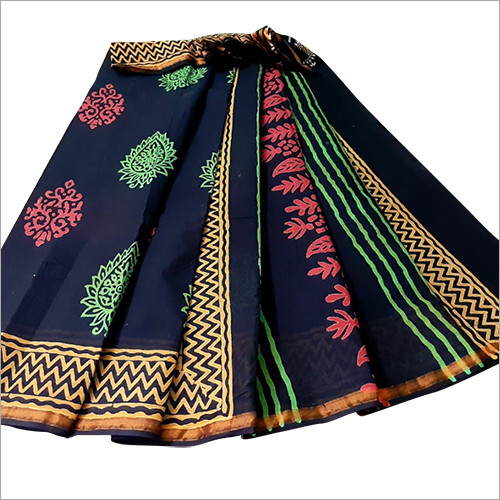 Ladies Linen Saree