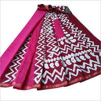 Ladies Bagru Silk Saree