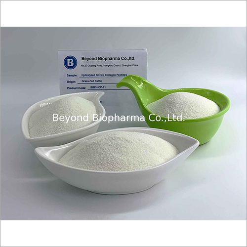 Hydrolyzed Bovine Collagen Peptides and Powder