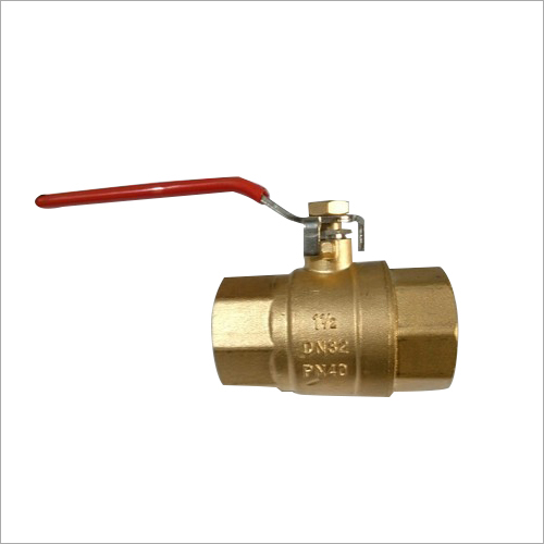 Heavy Brass Ball Valve