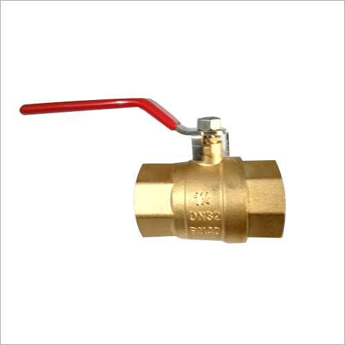1-1-4 Inch Heavy Brass Ball Valve