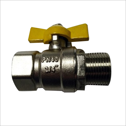 3-4 Inch Male and Female Brass Ball Valve