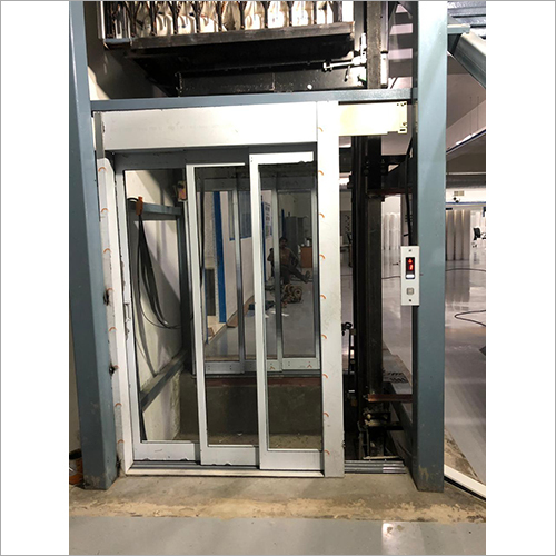 SS Manual Glass Telescopic Lift