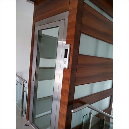 SS Glass Swing Door Lift