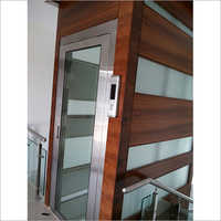 SS Glass Swing Door Lift