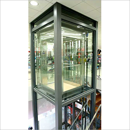 Full Glass Hydraulic Lift