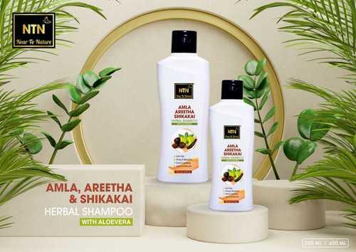 Amla Aritha Shikakai with Aloe Vera Hrbal Shampoo