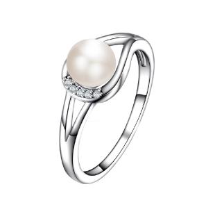 Fine Jewelry Freshwater Pearl Ring Handmade JewelryFine Jewelry Freshwater Pearl Ring Handmade Jewelry