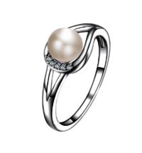 Fine Jewelry Freshwater Pearl Ring Handmade Jewelry