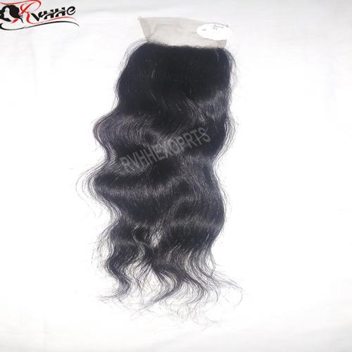 Peruvian Lace Closure Human Hair Weave