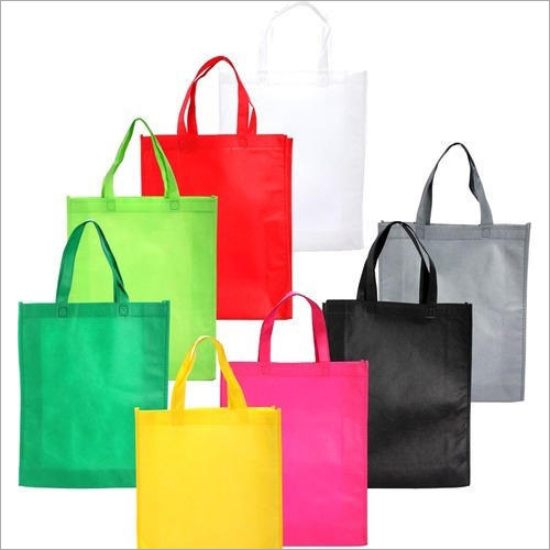 Colored Non Woven Handle Bags