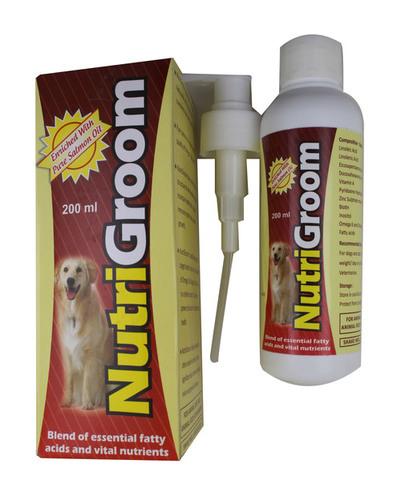 NUTRIGROOM 200ML-LENOLEIC ACID484MG+EICOSAPENTA