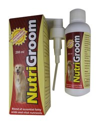 NUTRIGROOM 200ML-LENOLEIC ACID484MG+EICOSAPENTA