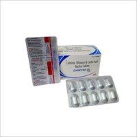Cefixime , Ofloxacin  & Lactic Acid Bacillus Tablets