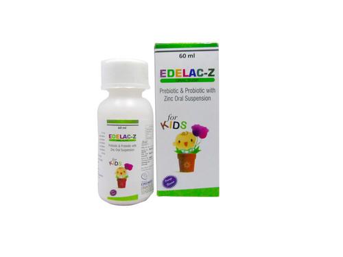 prebiotic and probiotic with zinc oral suspension