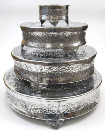 Four-Tiered Cake Stand Round