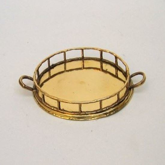 Solid Brass Tray