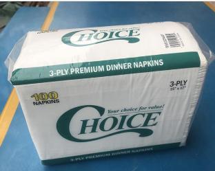 Low price for dinner napkin