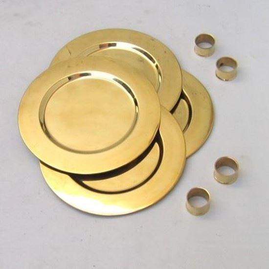 Brass Dining Set