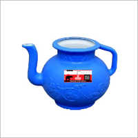 Blue Plastic Handle Lota