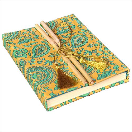 Handmade Paper Diary With Bamboo Lock
