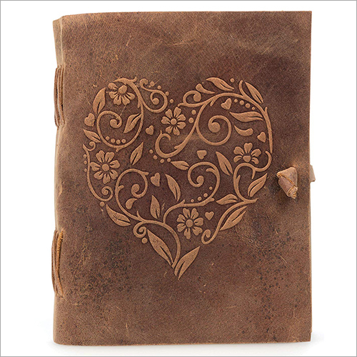 Antique Leather Diary
