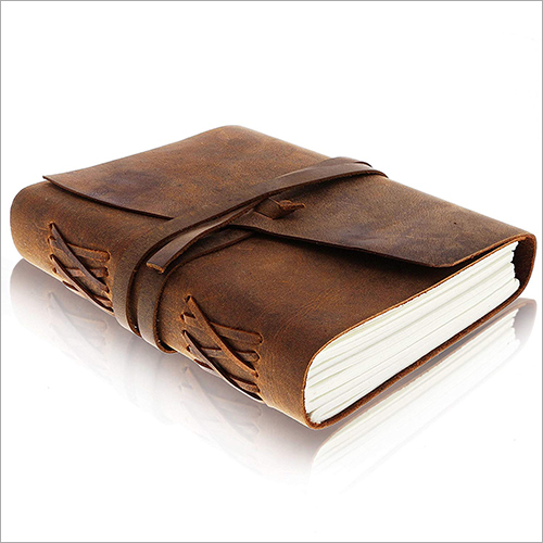 Fancy Leather Diary