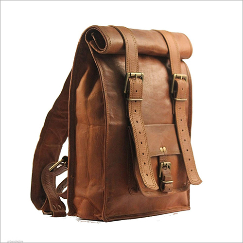 22 Inch Leather Backpack
