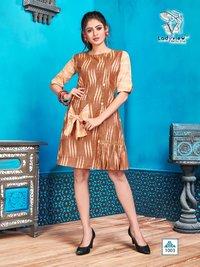 Designer Handloom Cotton Ikkat tunics