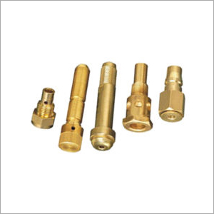 Brass Turned Auto Part