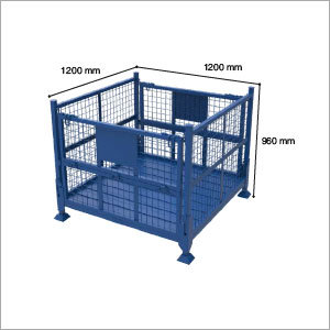 Collaspsible Cage Bin