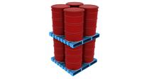 Reversible Type Steel Pallet