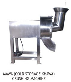Mawa (Clod Storage Khawa) Crushing Machine