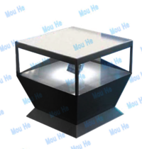 110cm X 110cm 360 Degree Floor Triangle Interactive Four Sided Hologram Display110cm X 110cm 360 Degree Floor Triangle Interactive Four Sided Hologram Display
