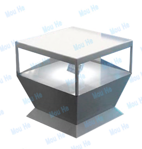 110cm*110cm 360 degree floor triangle interactive four-sided hologram display