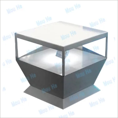 110cm X 110cm 360 Degree Floor Triangle Interactive Four Sided Hologram Display