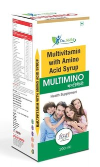 Multivitamin With Amino Acid Syrup
