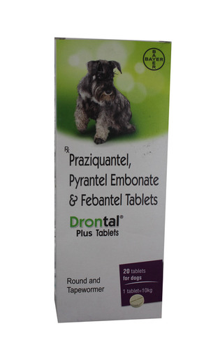 Drontal 20ml Puppy-PYRANTEL EMBONATE& FEBANTEL