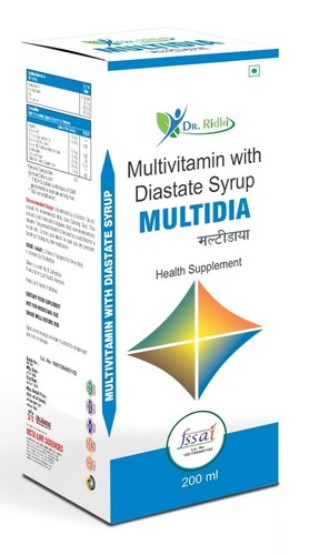 Multivitamin With Diastate Syrup