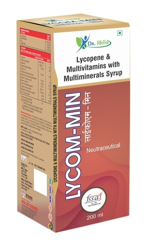 Lycopene & Multivitamins With Multiminerals Syrup