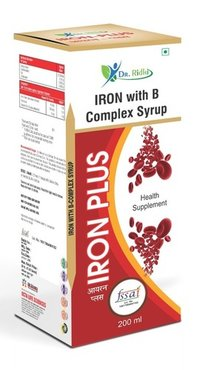 Iron With B Complex Syrup