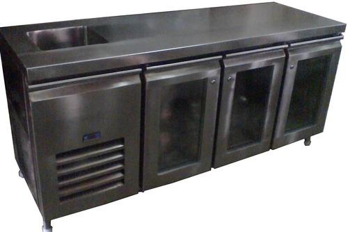 Under Counter Refrigerator with Sink
