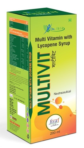 Multi Vitamin With Lycopene Syrup