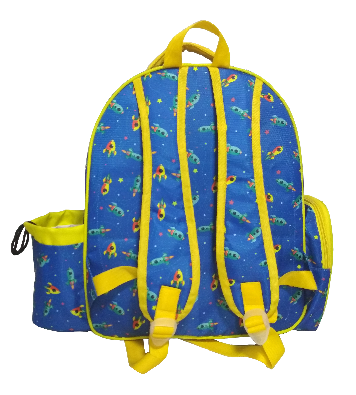 Rocket Printed Kids School Bag