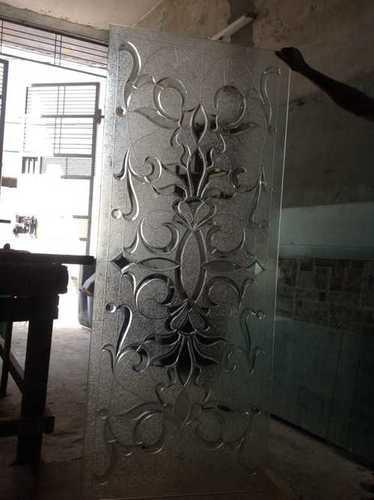 Clear Textured Art Glass