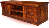 Fn solid sheehsam wood Entertainment unit