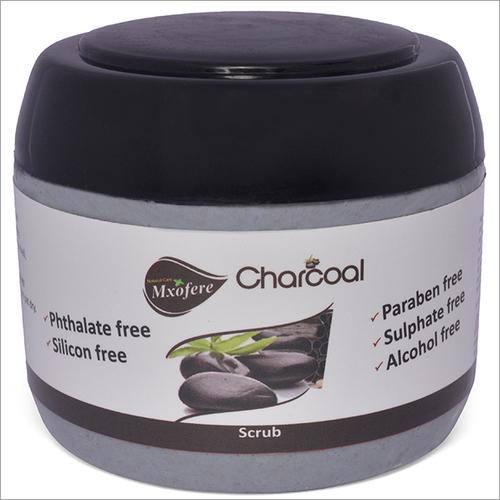 Silicon Free Charcoal Scrub