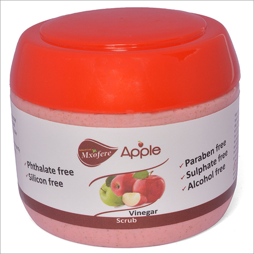 Silicon Free Apple Vinegar Scrub