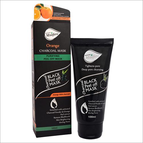 Orange Charcoal Mask